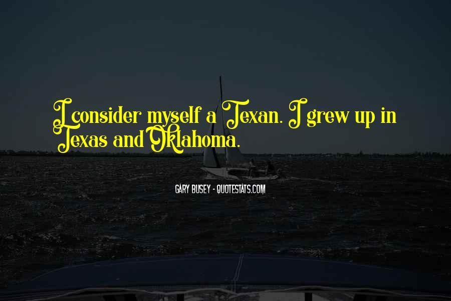 Texan Quotes #1447000