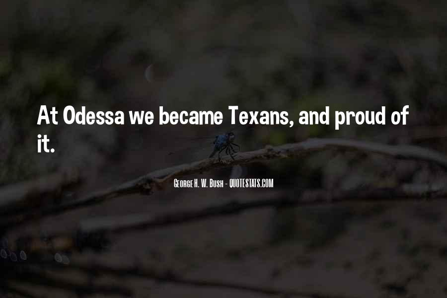 Texan Quotes #1587811