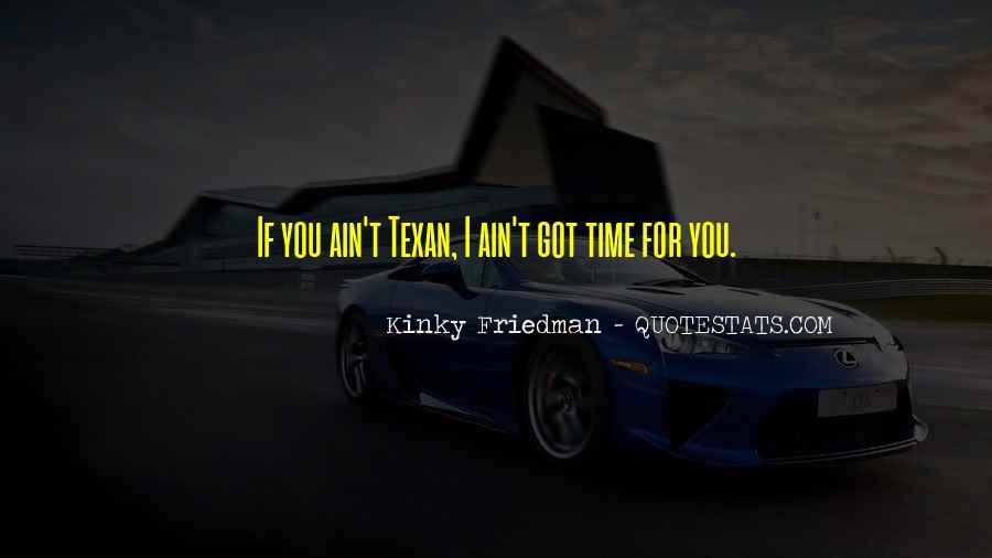 Texan Quotes #1875002