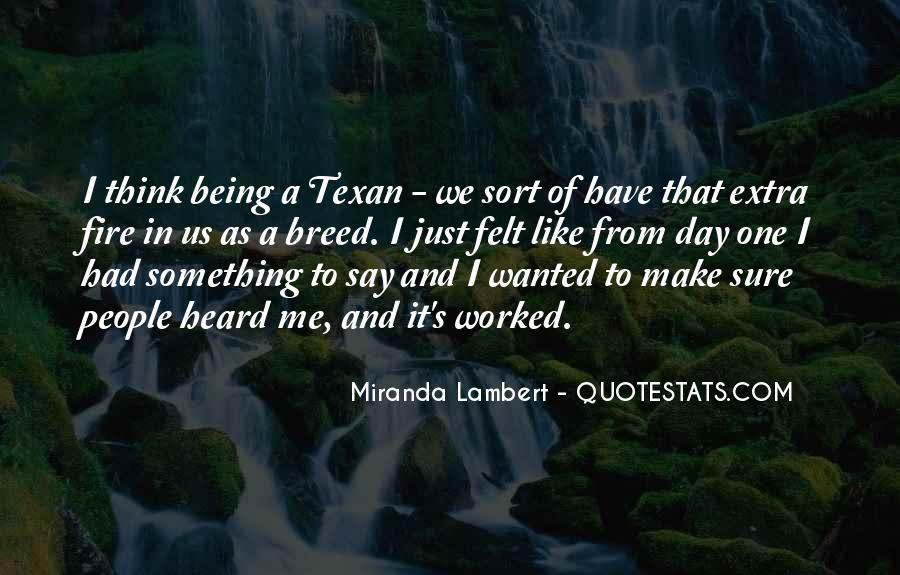 Texan Quotes #319381
