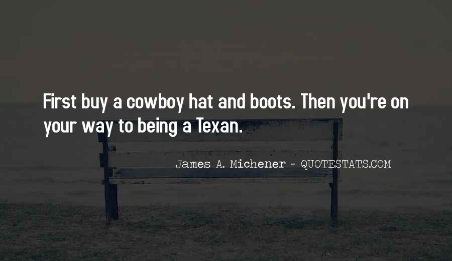 Texan Quotes #7655