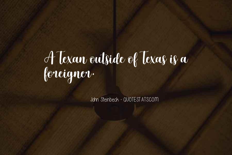 Texan Quotes #785329