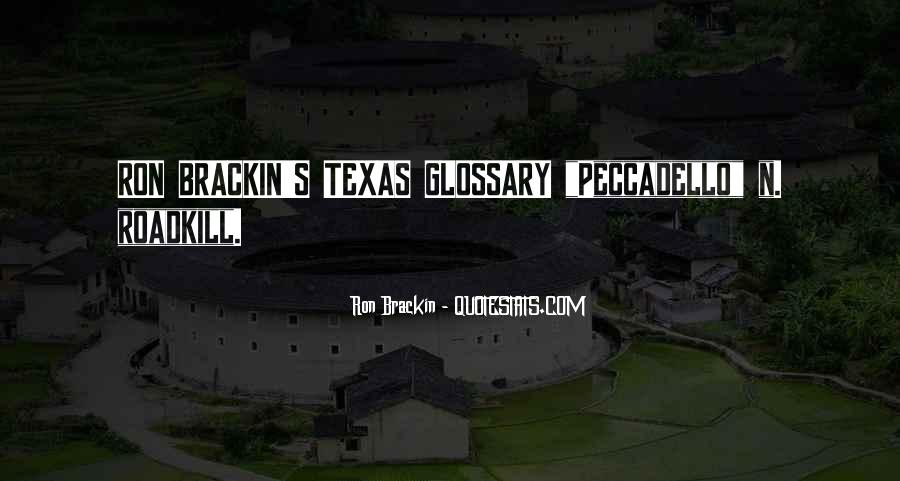 Texan Quotes #847929