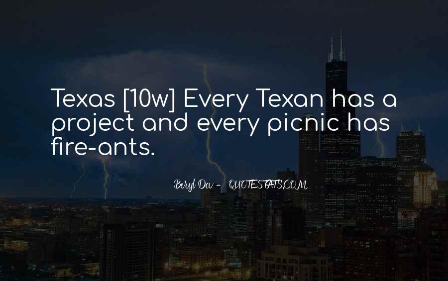 Texan Quotes #907843