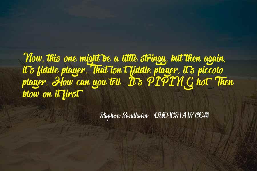 Tfs Piccolo Quotes #1628087