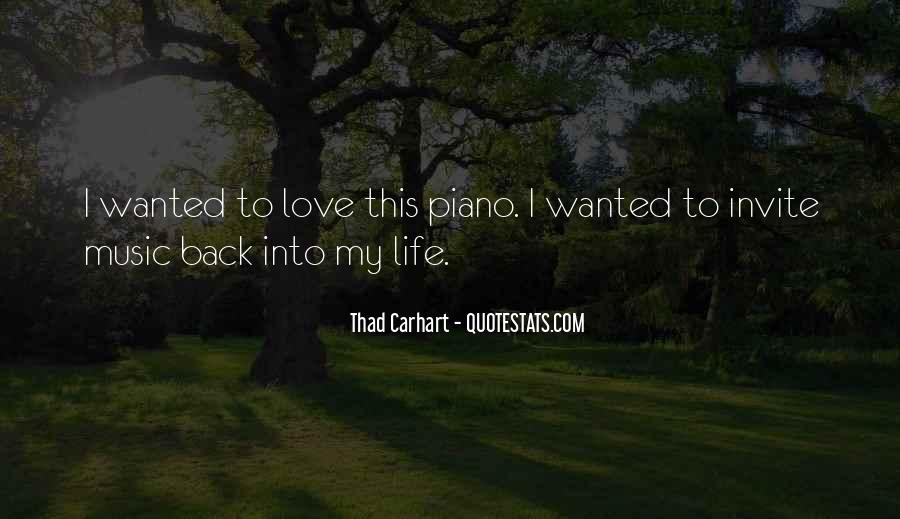 Thad's Back Quotes #793056