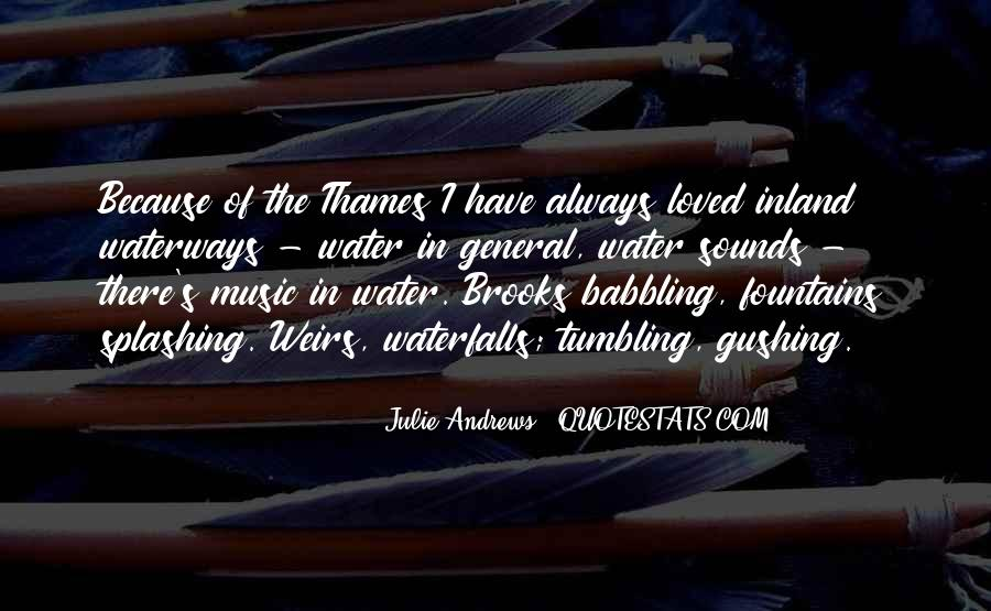 Thames Water Quotes #300505