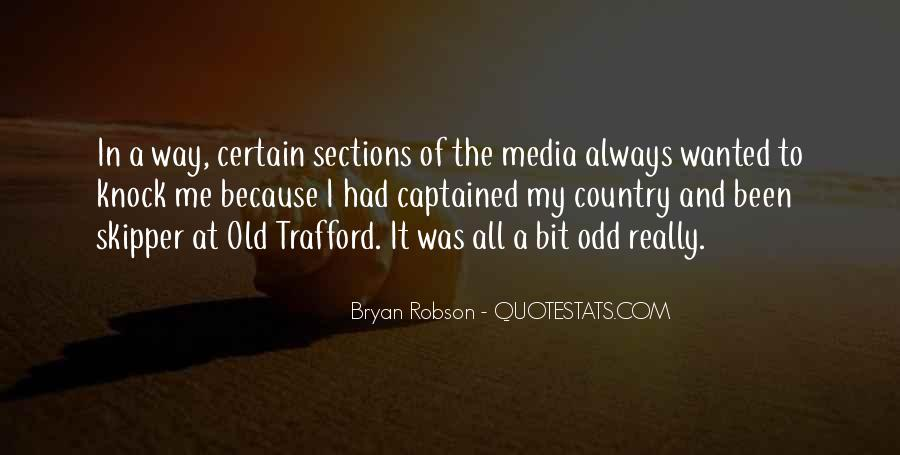 Quotes About Bryan Robson #121332