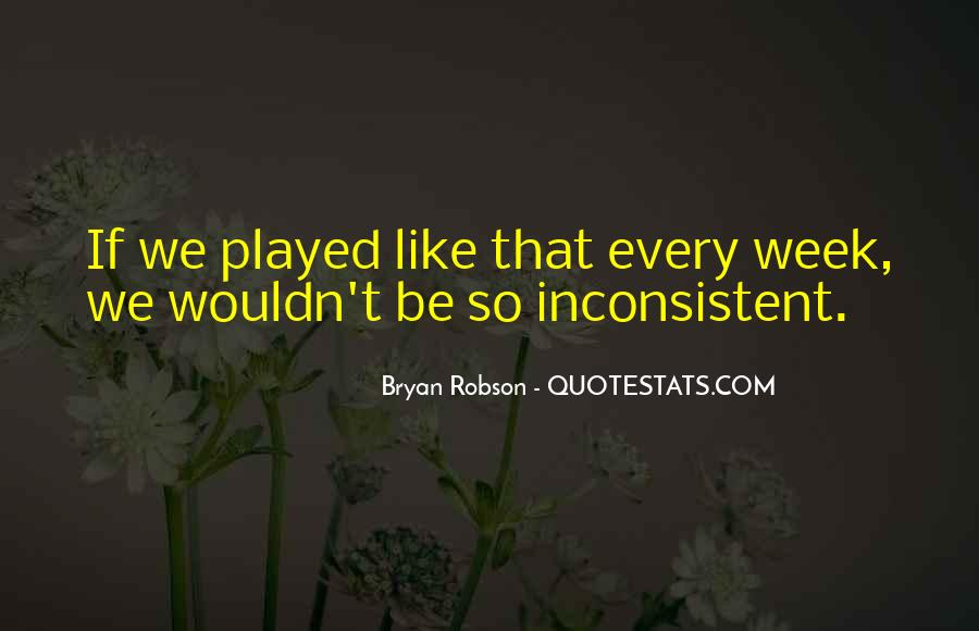 Quotes About Bryan Robson #1260505