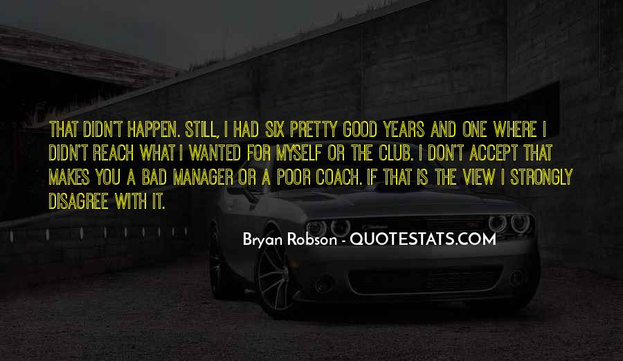 Quotes About Bryan Robson #1392213