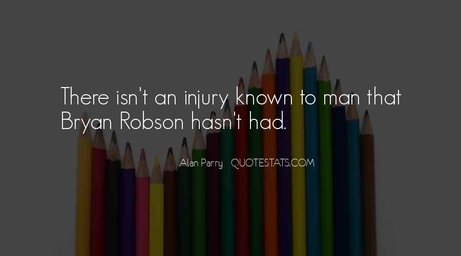 Quotes About Bryan Robson #384054