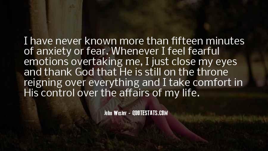 Thank God My Life Quotes #100325