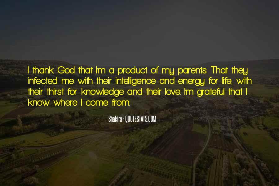Thank God My Life Quotes #1670576