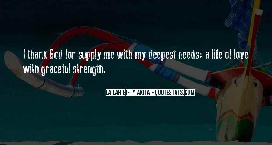 Thank God My Life Quotes #1746289