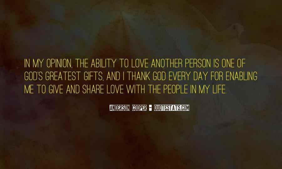 Thank God My Life Quotes #22840