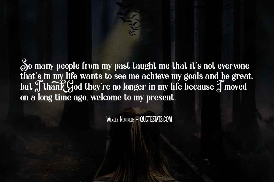 Thank God My Life Quotes #639839