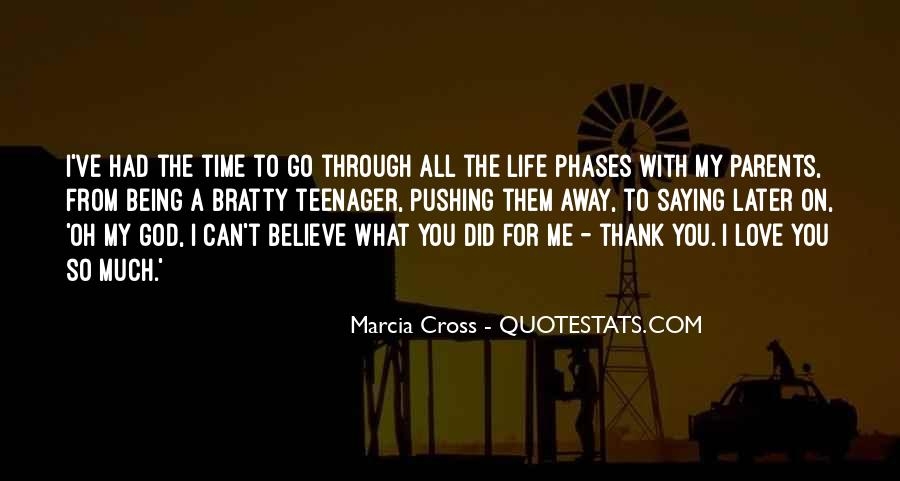 Thank God You're In My Life Quotes #155356