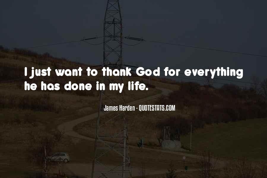 Thank God You're In My Life Quotes #39628