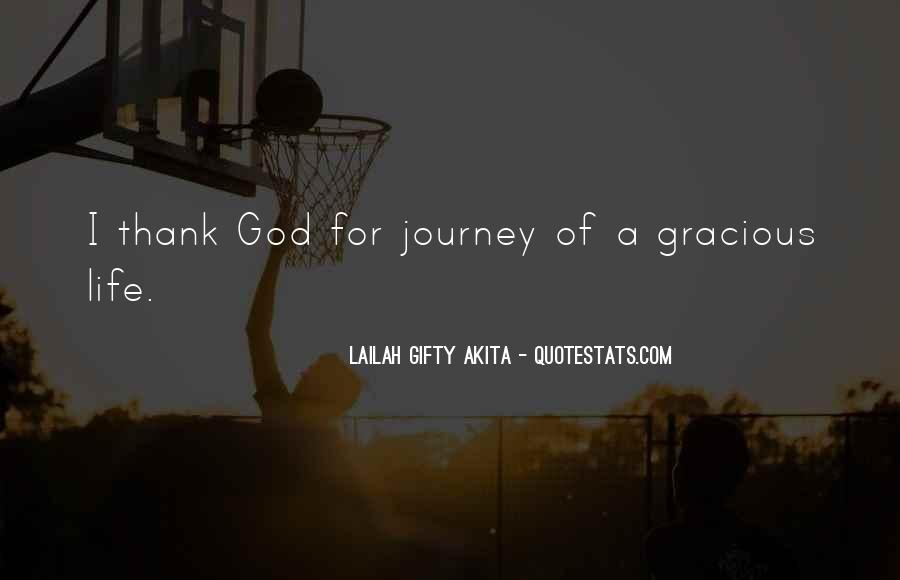 Thank God You're In My Life Quotes #96178