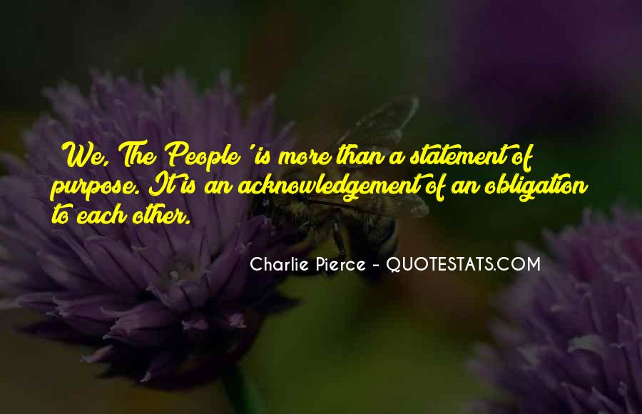 Thank You Acknowledgement Quotes #107811