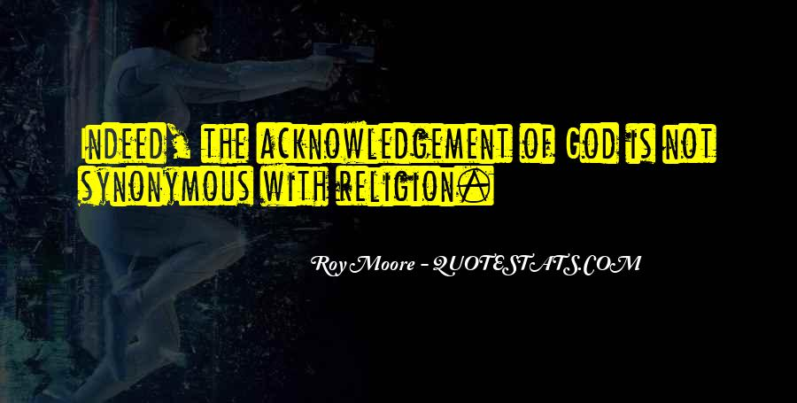 Thank You Acknowledgement Quotes #1495395