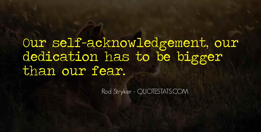 Thank You Acknowledgement Quotes #411523
