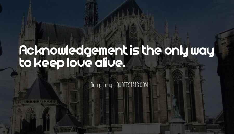 Thank You Acknowledgement Quotes #77726