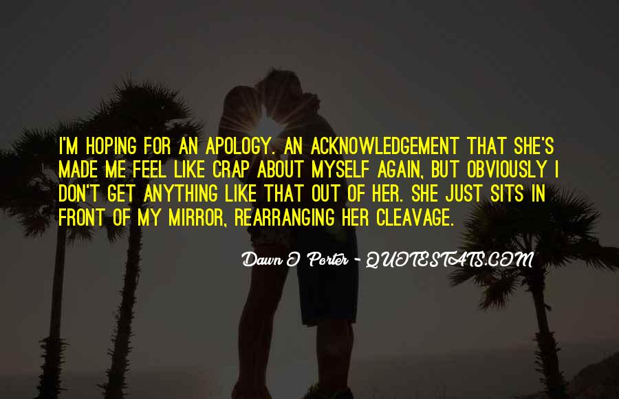 Thank You Acknowledgement Quotes #816073