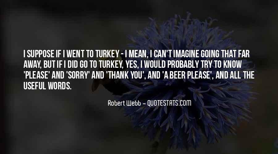 Thank You But Sorry Quotes #1441586