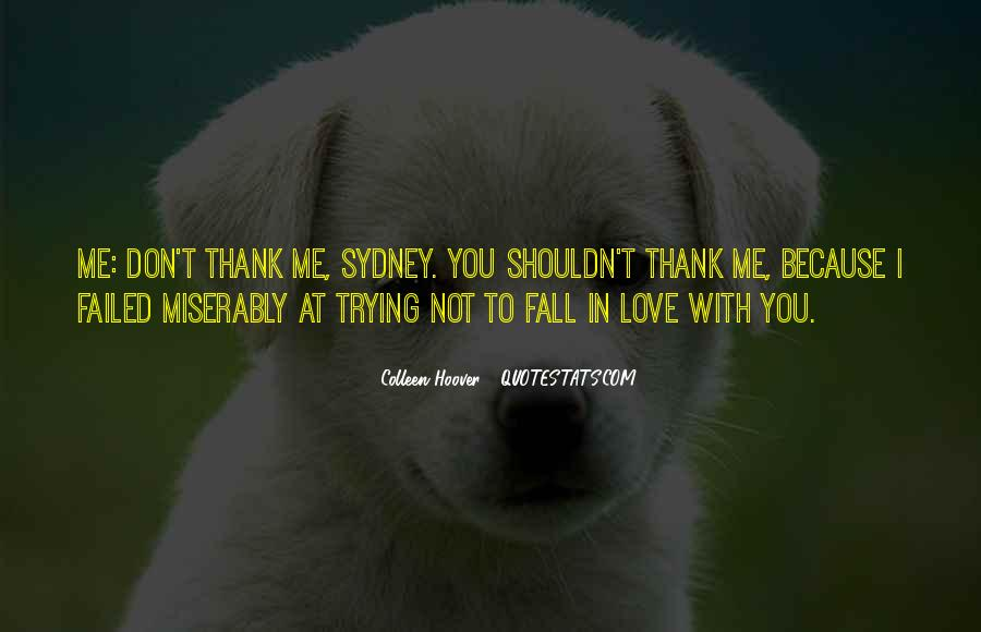 Thank You But Sorry Quotes #20451