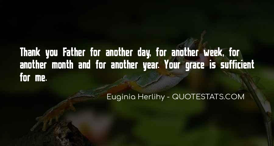 Thank You Father For Another Day Quotes #1517482