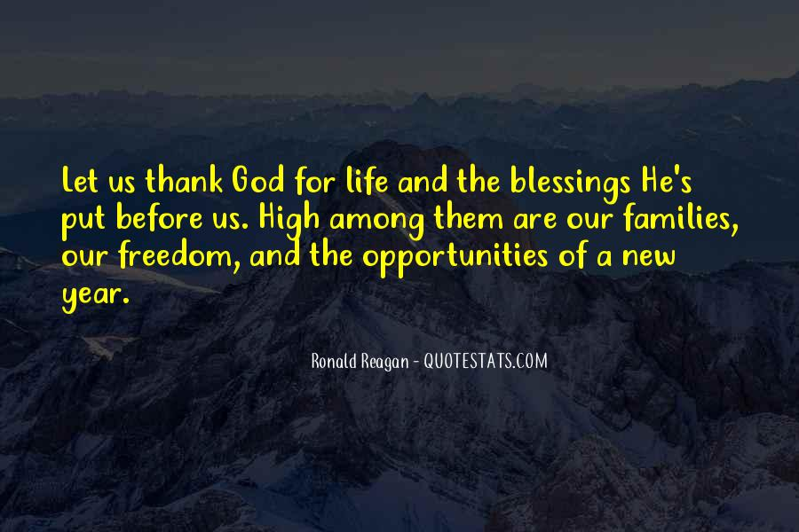 Thank You God For All The Blessings In My Life Quotes #1144808