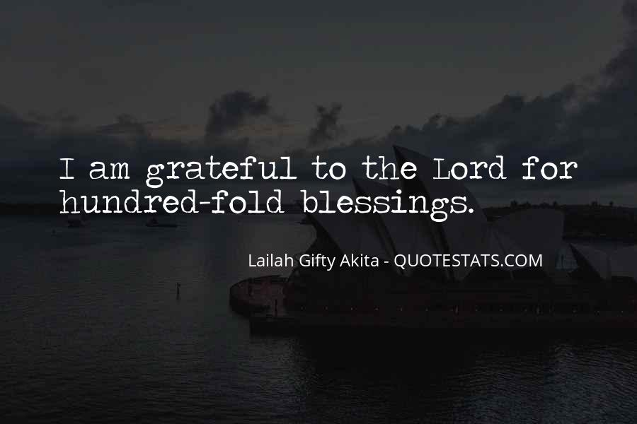 Thank You God For All The Blessings In My Life Quotes #1339719