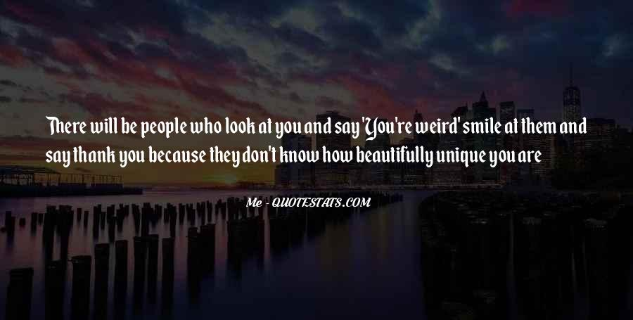 Thank You Smile Quotes #1165817