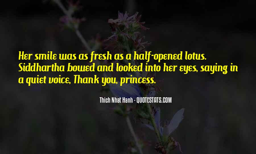 Thank You Smile Quotes #1213930