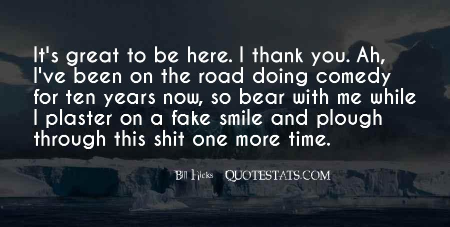Thank You Smile Quotes #1682621