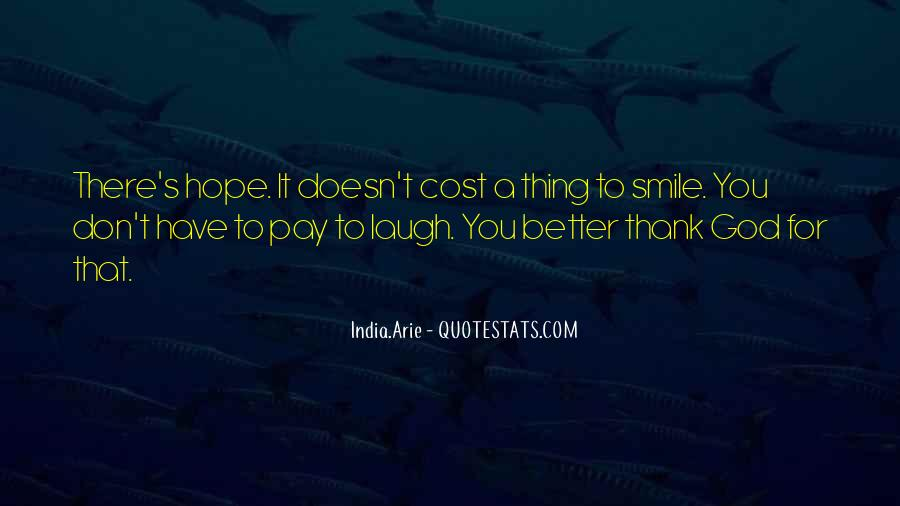 Thank You Smile Quotes #1774670