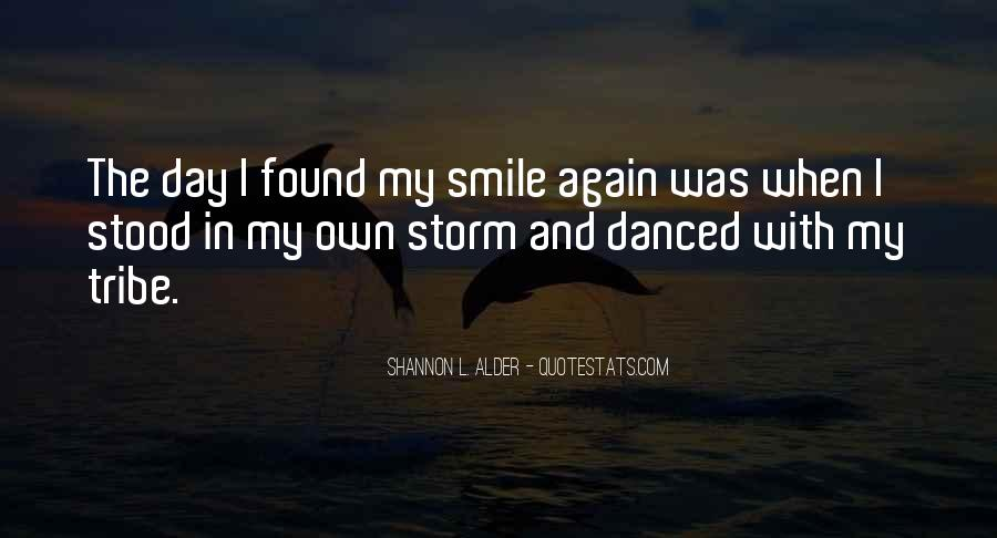 Thank You Smile Quotes #206251