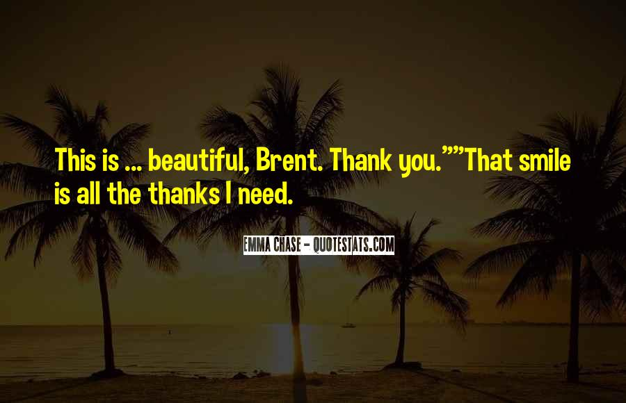 Thank You Smile Quotes #586714