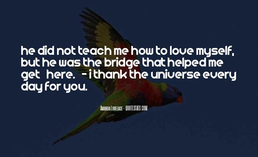 Thank You So Much My Love Quotes #25638