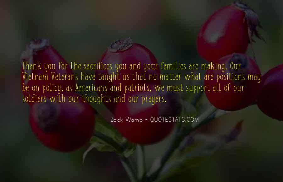 Thank You Veterans Quotes #1106805