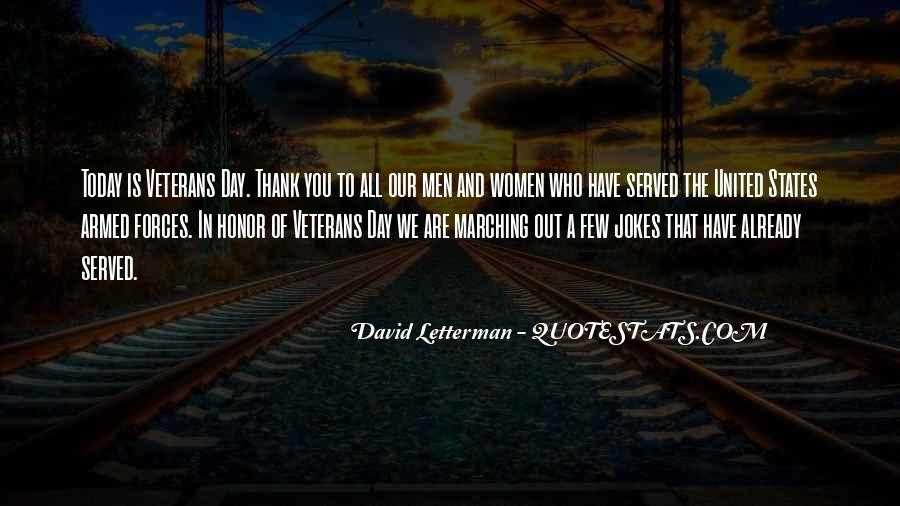 Thank You Veterans Quotes #551452