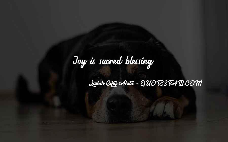 Thankful For Life's Blessings Quotes #1159911