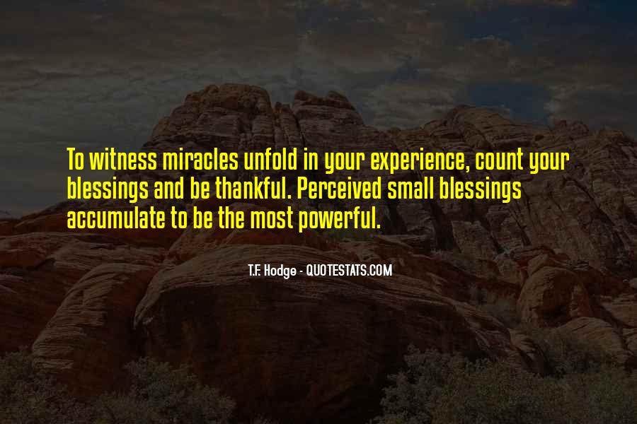 Thankful For Life's Blessings Quotes #1478686