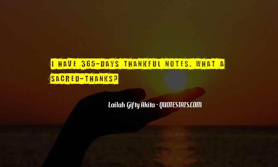 Thankful For Life's Blessings Quotes #512068
