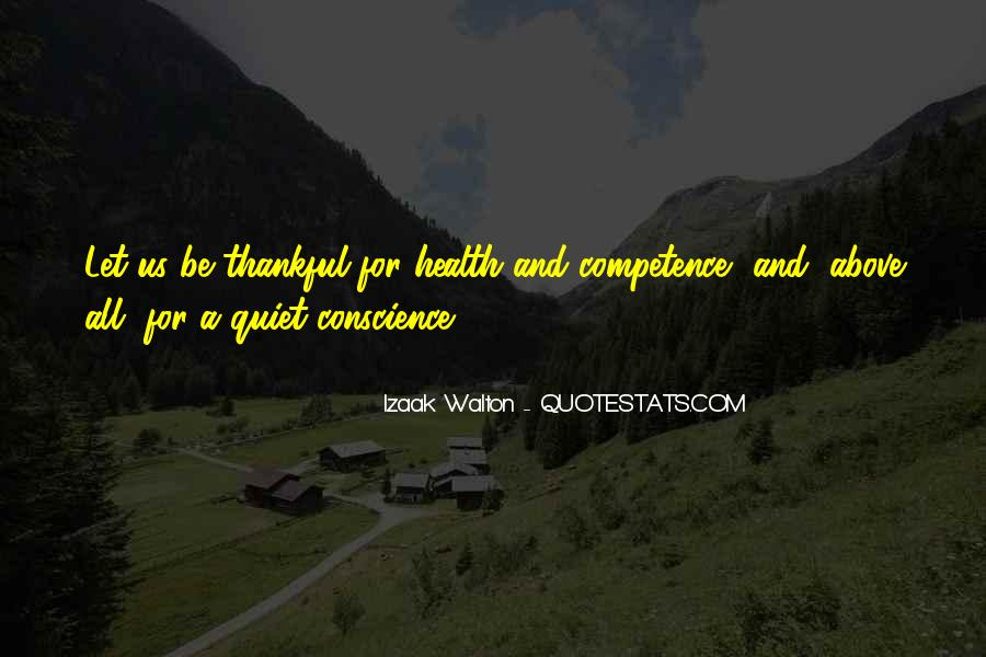 Thankful For My Health Quotes #1081092
