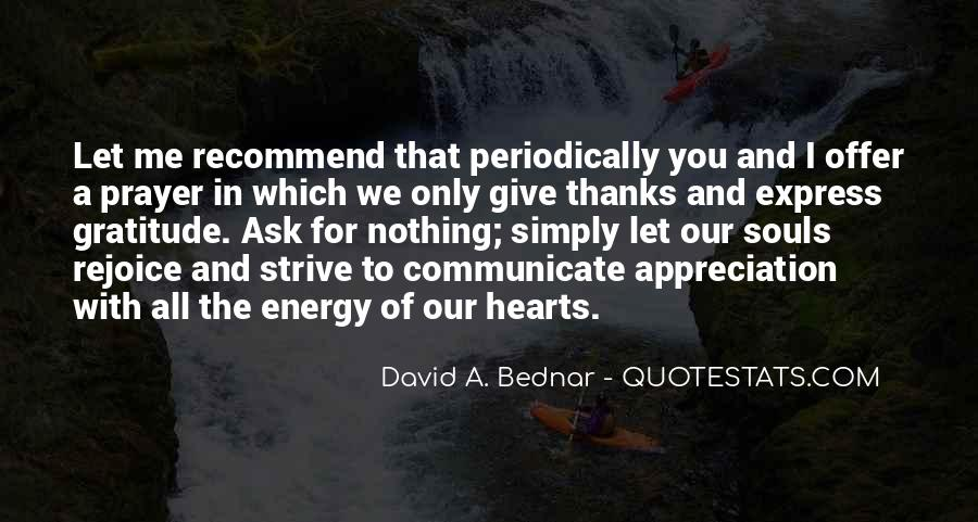 Thanks For All Quotes #1107406