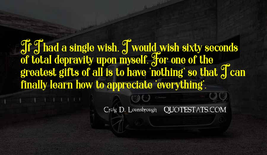Thanks For All Quotes #137801