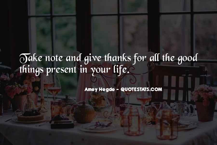 Thanks For All Quotes #1406606