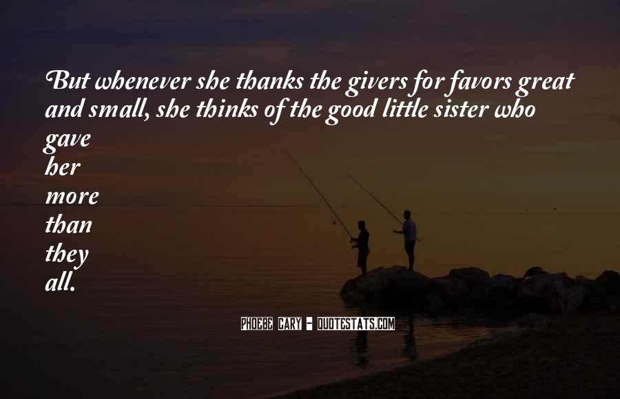 Thanks For All Quotes #178324